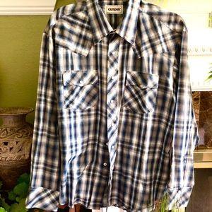 Men's Vintage Ling Sleeve Shirt